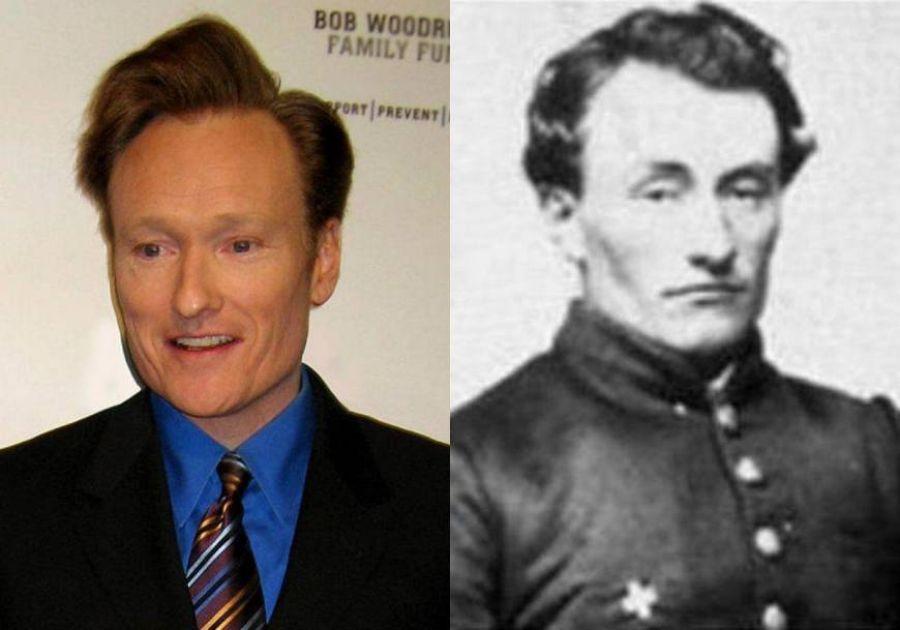 10. Conan O'Brien E Seu Ancestral Da Guerra Civil, Marshall Twitchell