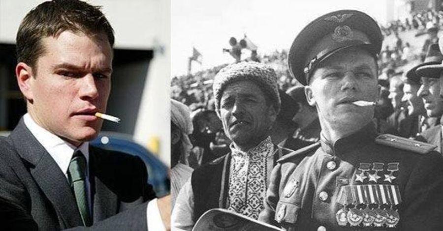 8. Será Que Matt Damon É Na Realidade O Piloto Soviético Ivan Nikitovich Kozhedub?
