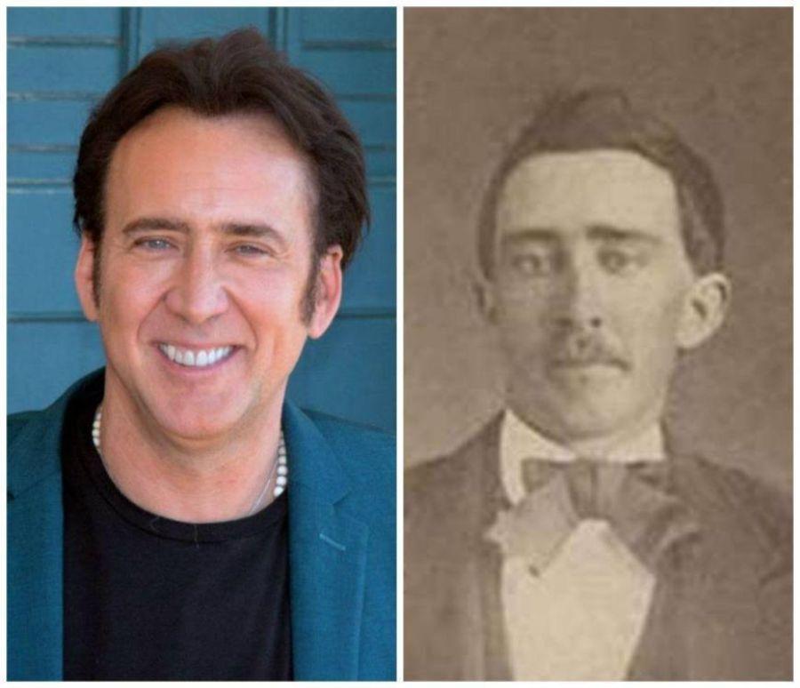 1. Nicolas Cage Como Um Vampiro da Guerra Civil
